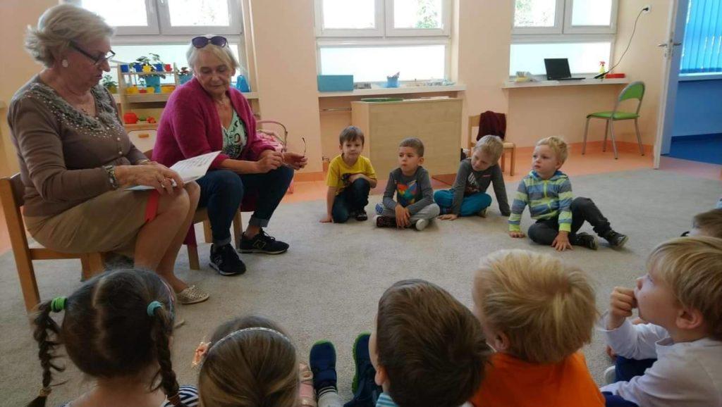 Czytanie w przedszkolu