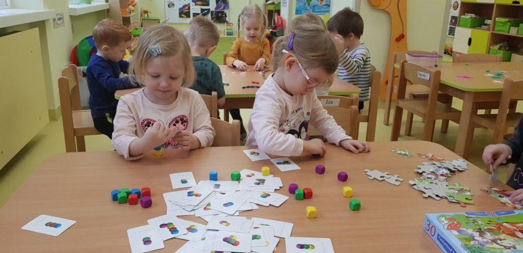 Dzień umiejętności matematycznych w oddziałach przedszkolnych