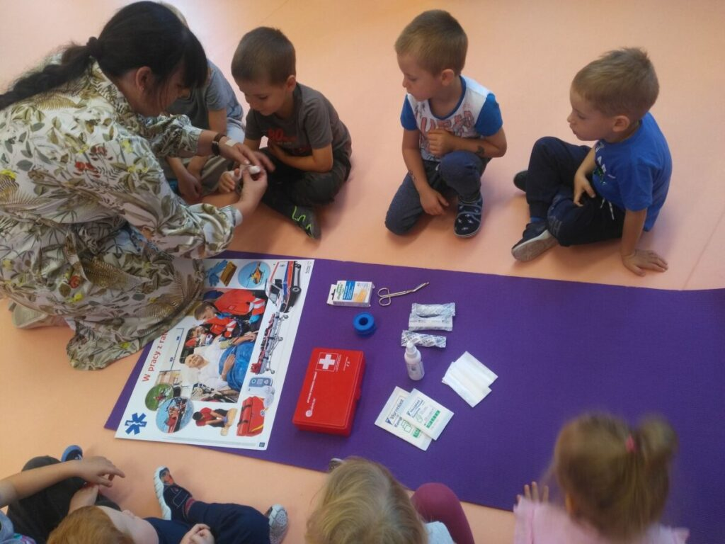 Dzień Pierwszej Pomocy w oddziałach przedszkolnych
