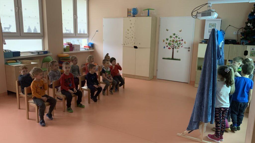 Dzień teatru w oddziałach przedszkolnych