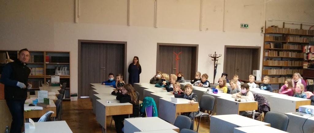 Wizyta w Wojewódzkiej Bibliotece Publicznej